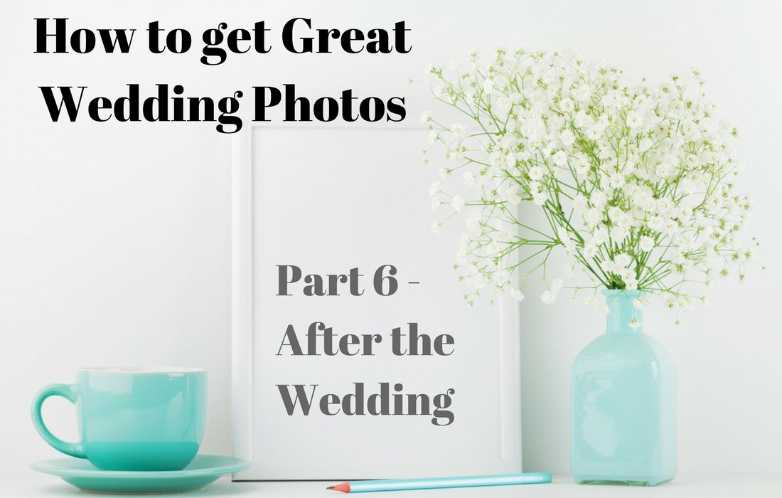 what to do with great wedding photos