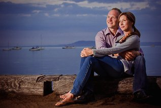 Portsea Engagement Shoot