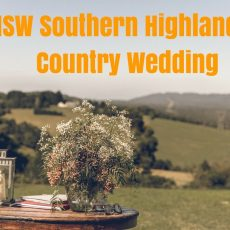 NSW Southern Highlands Wedding