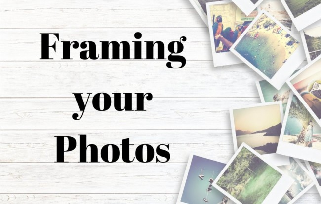 Framing your photos