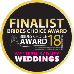 2018 Finalist Brides Choice Western Sydney Weddings