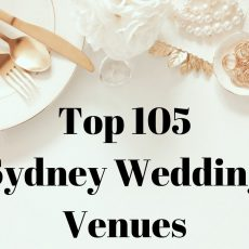 Top 105 Wedding Venues in Sydney