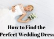 How to find the perfect wedding dress blog tittle