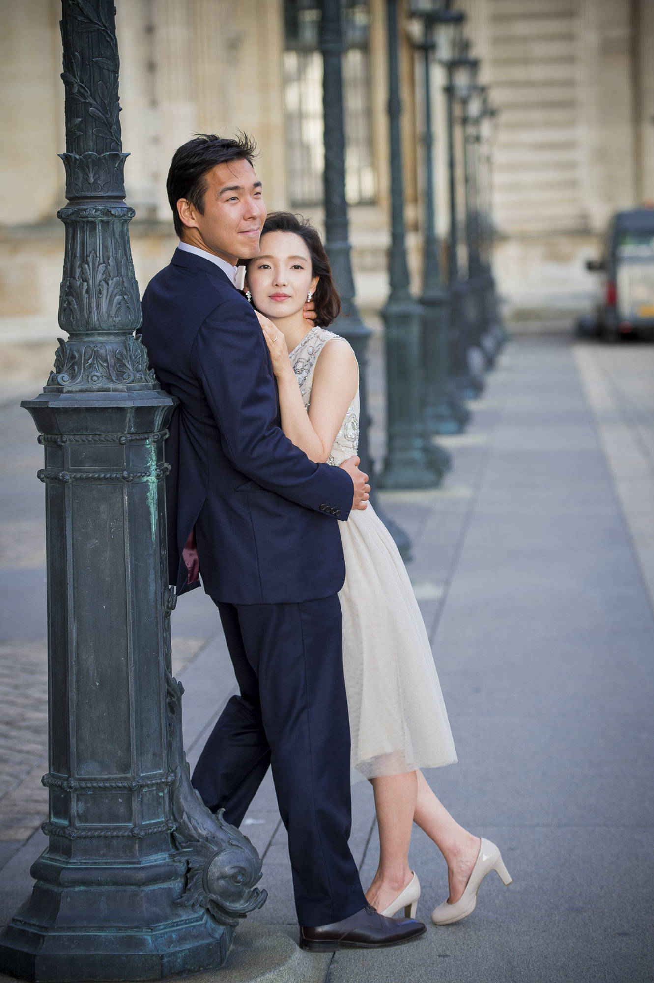 Pre Wedding - Louvre, Paris 4